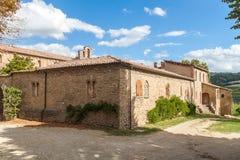 Abadía de Valsenio Imagen de archivo libre de regalías