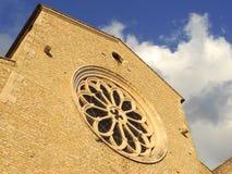 Abadía de Valvisciolo Foto de archivo libre de regalías