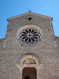 Abadía de Valvisciolo en Italia Fotografía de archivo