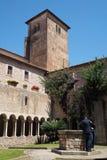 Abadía de Valvisciolo en Italia Fotos de archivo libres de regalías