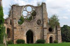 Abadía de Vaux de Cernay Imagen de archivo libre de regalías
