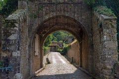 Abadía de Vaux de Cernay Imágenes de archivo libres de regalías