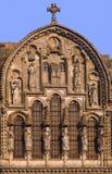 Abadía de Vezelay Fotos de archivo libres de regalías