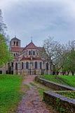 Abadía de Vezelay en la región de Borgoña Franche Comte de Francia Imagen de archivo libre de regalías