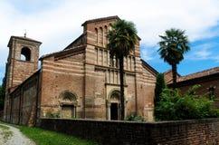 Abadía de Vezzolano Fotos de archivo
