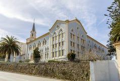 Abadía de Viaceli en Cobreces, Cantabria, España Imagenes de archivo