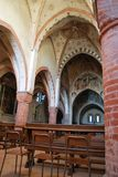 Abadía de Viboldone Foto de archivo libre de regalías