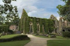 Abadía de Villers, Bélgica Imágenes de archivo libres de regalías