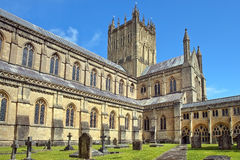 Abadía de Wells, Somerset, Inglaterra Fotos de archivo libres de regalías