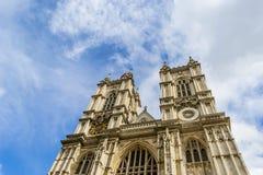 Abadía de Wesminster en Londres Foto de archivo