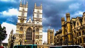 Abadía de Westminster Fotos de archivo libres de regalías