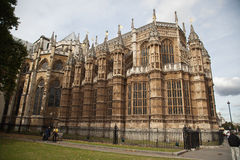 Abadía de Westminster en Londres Imagen de archivo