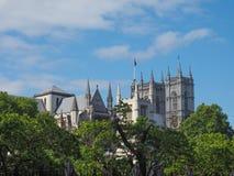 Abadía de Westminster en Londres Fotos de archivo