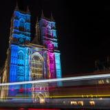 Abadía de Westminster en Londres Fotografía de archivo libre de regalías