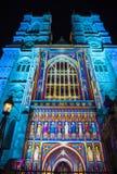 Abadía de Westminster en Londres Imágenes de archivo libres de regalías