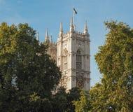 Abadía de Westminster en Londres Foto de archivo