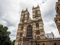 Abadía de Westminster en Londres (hdr) Imágenes de archivo libres de regalías