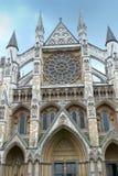 Abadía de Westminster en Londres Inglaterra Imagenes de archivo