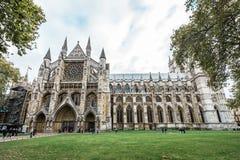 Abadía de Westminster en Londres, Inglaterra Foto de archivo libre de regalías