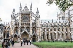Abadía de Westminster en Londres, Inglaterra Fotos de archivo libres de regalías