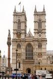 Abadía de Westminster en Londres, Inglaterra, Reino Unido Imagen de archivo