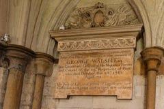 Abadía de Westminster en Londres, Inglaterra, Reino Unido Imagenes de archivo