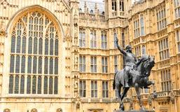 Abadía de Westminster en Londres, Reino Unido Foto de archivo