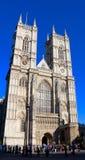 Abadía de Westminster, fachada occidental, Londres, Reino Unido Imagen de archivo libre de regalías