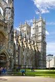 Abadía de Westminster, forma de la visión el parque Imagen de archivo