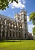 Abadía de Westminster, forma de la visión el parque Fotos de archivo