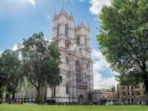 Abadía de Westminster, formalmente titulada la iglesia colegial de San Pedro en Westminster Fotografía de archivo