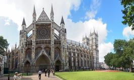 Abadía de Westminster, formalmente titulada la iglesia colegial de San Pedro en Westminster Foto de archivo libre de regalías