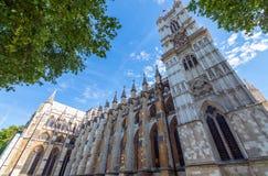 Abadía de Westminster, formalmente titulada la iglesia colegial de St P Fotos de archivo libres de regalías