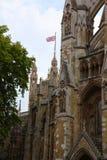 Abadía de Westminster, formalmente titulada la iglesia colegial de San Pedro en Westminster Foto de archivo