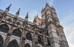 Abadía de Westminster gótica Fotografía de archivo libre de regalías