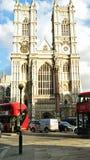 Abadía de Westminster histórica Imagen de archivo libre de regalías