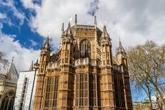 Abadía de Westminster (la iglesia colegial de San Pedro en Westmins Imágenes de archivo libres de regalías