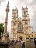Abadía de Westminster, la iglesia gótica en Londres, Reino Unido Foto de archivo