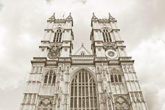 Abadía de Westminster, Londres Foto de archivo