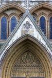 Abadía de Westminster - Londres Foto de archivo libre de regalías