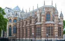 Abadía de Westminster, Londres, Inglaterra, arquitectura gótica Fotos de archivo libres de regalías