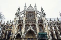 Abadía de Westminster majestuosa Foto de archivo