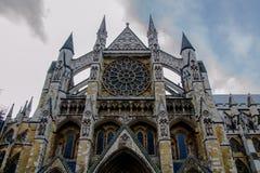 Abadía de Westminster por noche Imagen de archivo libre de regalías