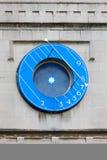 Abadía de Westminster, reloj azul - Londres Imagen de archivo libre de regalías