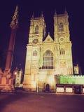 Abadía de Westminster retra de la mirada Fotos de archivo libres de regalías