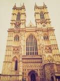 Abadía de Westminster retra de la mirada Imagen de archivo libre de regalías