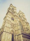 Abadía de Westminster retra de la mirada Imagenes de archivo