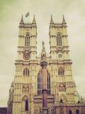 Abadía de Westminster retra de la mirada Imagen de archivo