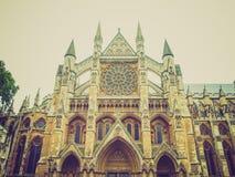 Abadía de Westminster retra de la mirada Fotografía de archivo