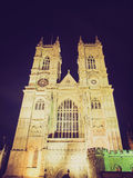 Abadía de Westminster retra de la mirada Fotos de archivo